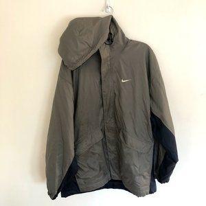 Vintage Nike Sherpa Lined Jacket Men's Large